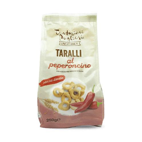 Tentazioni Pugliesi Taralli al Peperoncino 250g