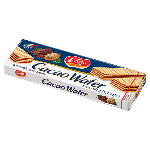 Lago Wafers Cremacacao 50g