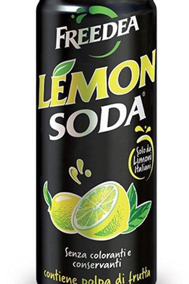 Lemonsoda bevanda al limone lattina 330 ml