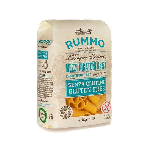Rummo Mezzi Rigatoni Nº51 Sin gluten 400gr