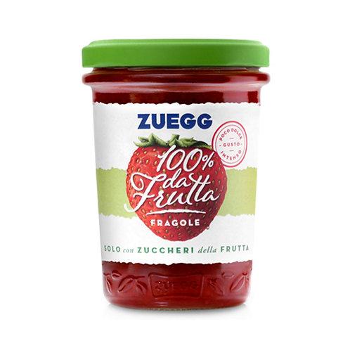 Zuegg Marmellata 100% Frutta Fragole 250gr