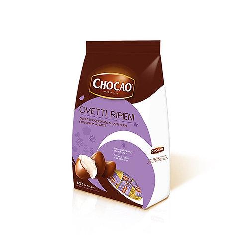 Chocao Ovetti Ripieni con Crema al Latte 125g