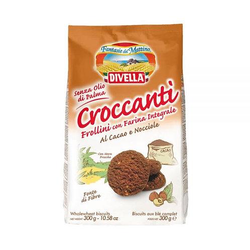 Divella Croccanti al Cacao e Nocciole 300gr