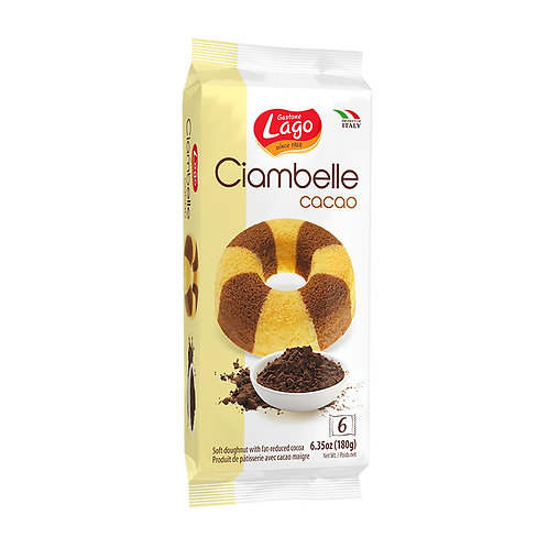 Lago Ciambelle Con Cacao 180g