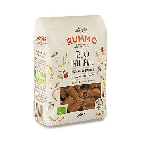 Rummo Bio Integrale Mezzi Rigatoni Nº51 500gr