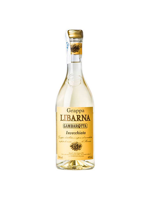 GRAPPA LIBARNA INVECCHIATA LICOR 700ML