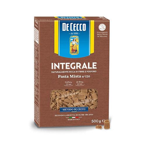 De Cecco Integrale Pasta Mista Nº120 500gr