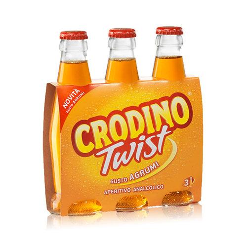 Crodino Twist Agrumi Aperitivo cerveza 17.5cl x3