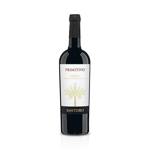 Primitivo Puglia Santoro vino 70cl