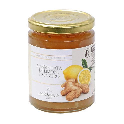 Agrisicilia Marmellata di Limoni e Zenzero 360g