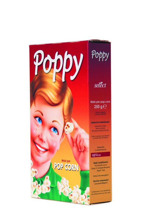 Select pop corn poppy 250 gr