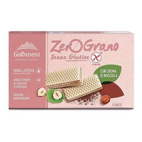Galbusera Zero Grano Wafer Nocciola Sin gluten 180gr