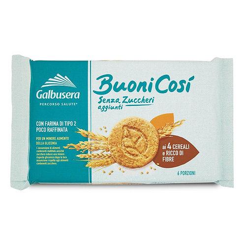 Galbusera BuoniCosí Biscotti Cereali Senza Zuccheri 300gr