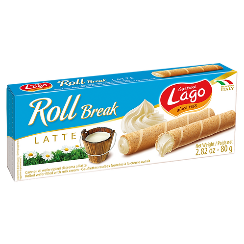 Lago roll break latte 80g