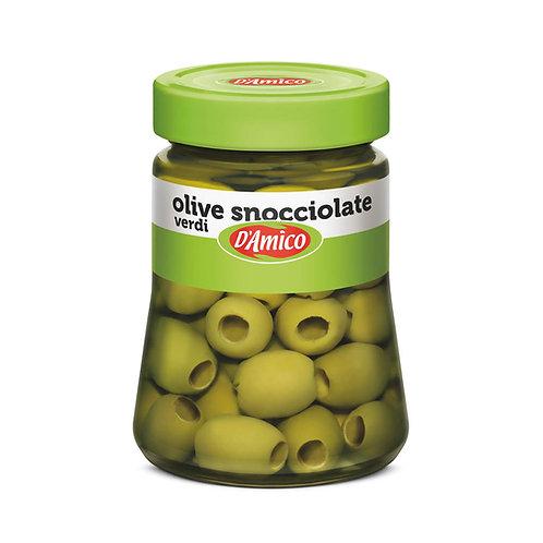 D'Amico Olive Snocciolate Verdi 290g