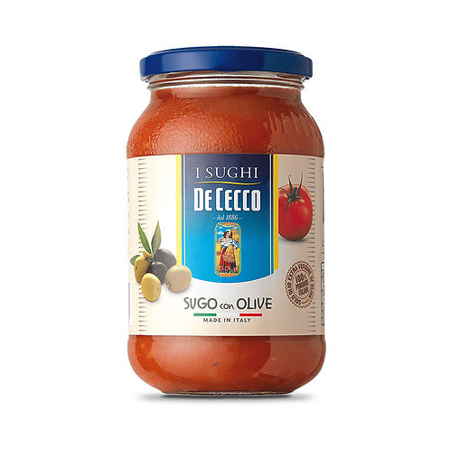 De Cecco Sugo con Olive 400gr