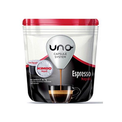 Kimbo 16 Capsule Espresso Napoli cafe 112g