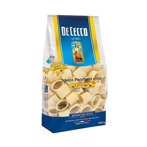 De Cecco Mezzi Paccheri 225 500g