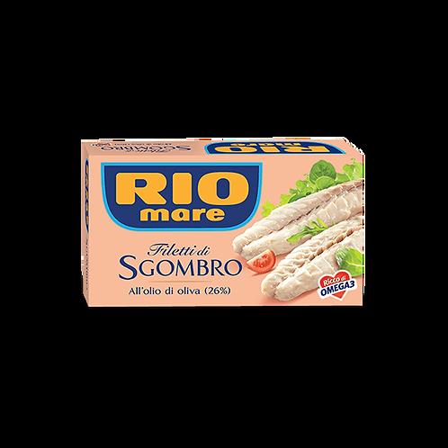 Riomare filetti di sgombro all'olio d'oliva 125 gr