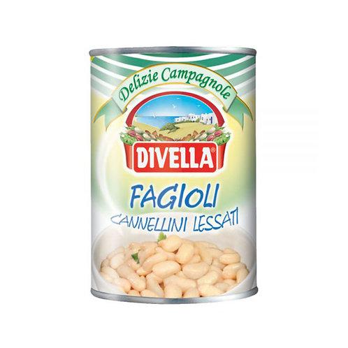 Divella Fagioli Cannellini Lessati 400gr