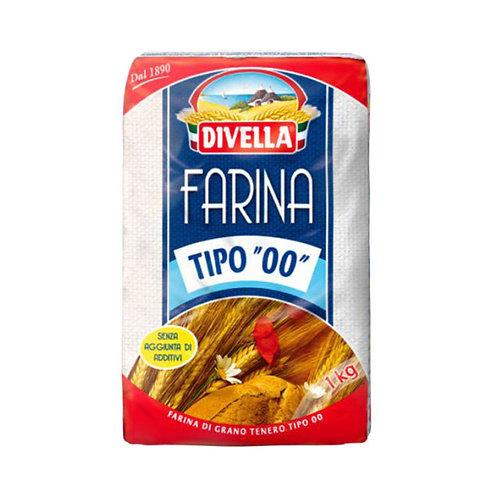 """Divella Farina Tipo """"00"""" 1Kg"""
