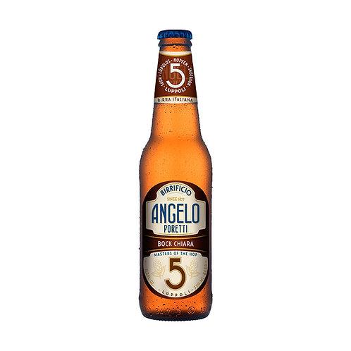 Birrificio Angelo Poretti 5 Bock Chiara cerveza 330 ml