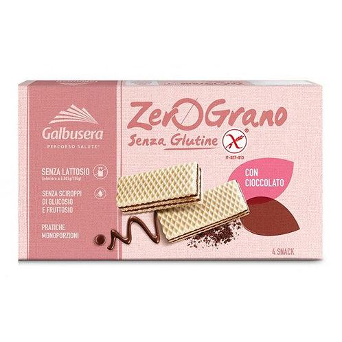 Galbusera Zero Grano Wafer Cioccolato Sin gluten 180gr