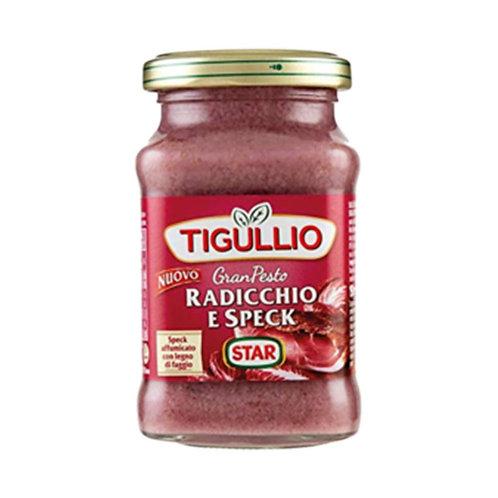 Tigullio Gran Pesto Radicchio e Speck 190gr