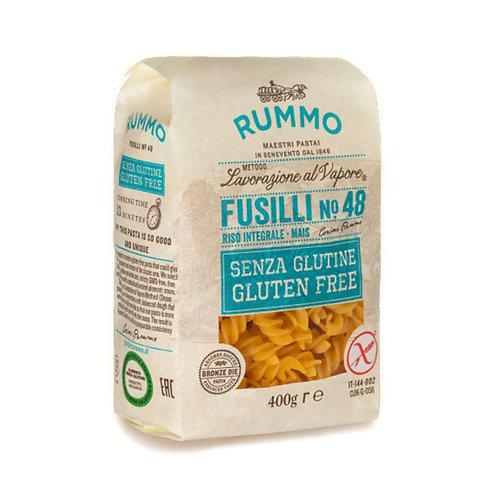 Rummo Sin gluten Fusilli Nº48 400gr