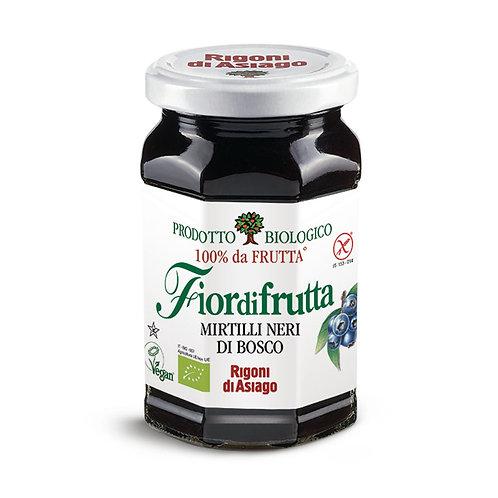 Rigoni Marmellata Mirtilli Neri 100% Frutta sin gluten bio  250gr