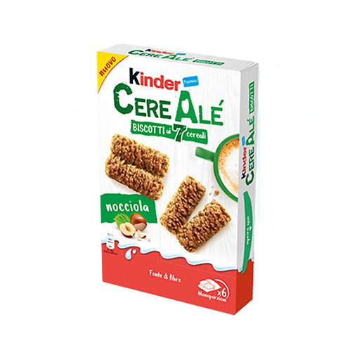 Kinder Cere Alé Biscotti 7 Cereali Nocciola 204gr