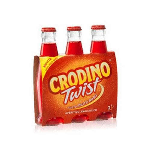 Crodino Twist Frutti Rossi cerveza 17.5 cl x3