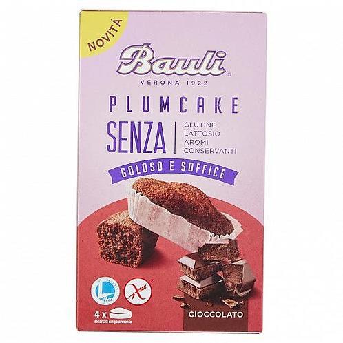 Bauli plumcake cioccolato sin gluten sin lactosa 132g