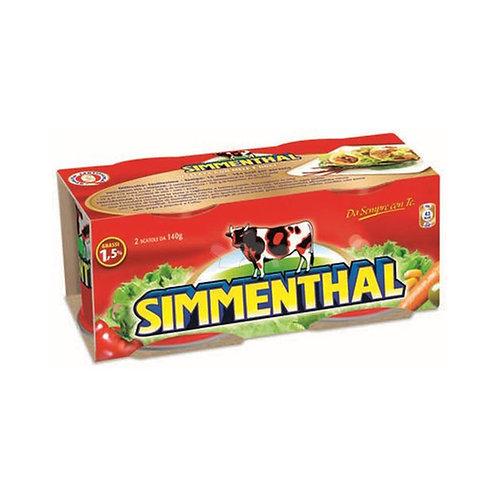Simmenthal Carne 140gx2 280g