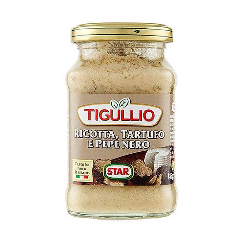 Tigullio Ricotta Tartufo e Pepe Nero 185gr