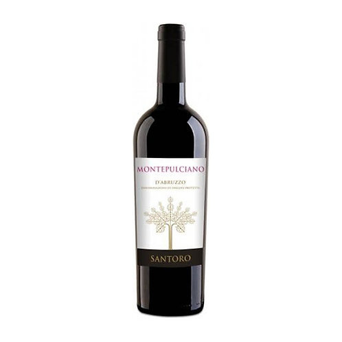 Montepulciano D'abruzzo Santoro vino 750ml