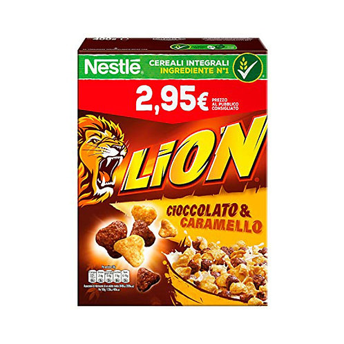 Nestle Lion Cereali Cioccolato & Caramello 400gr