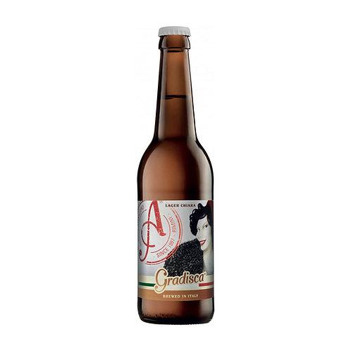 Lager Chiara Gradisca cerveza 330ml