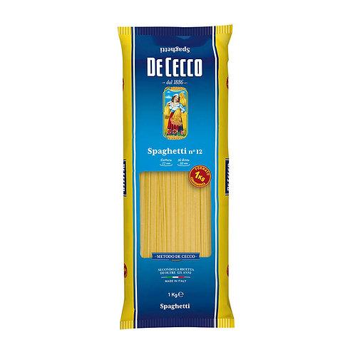 De Cecco Spaghetti Nº12 1kg