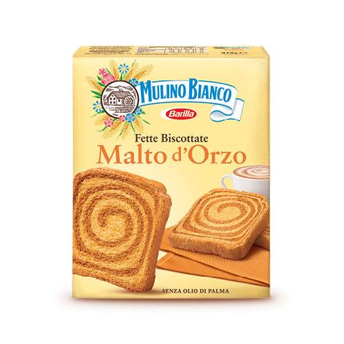 Mulino Bianco Fette Biscottate Malto d'Orzo 315gr