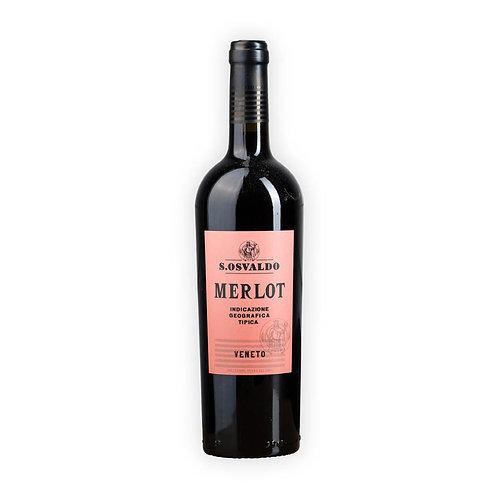 S.osvaldo Merlot Veneto vino 75cl