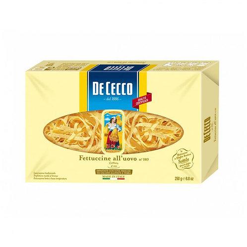 De Cecco Fettuccine Nº103 All'uovo 250g