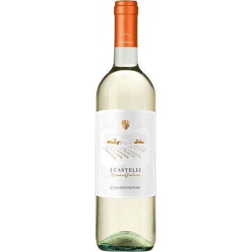 I Castelli Chardonnay Blanco vino 700ml