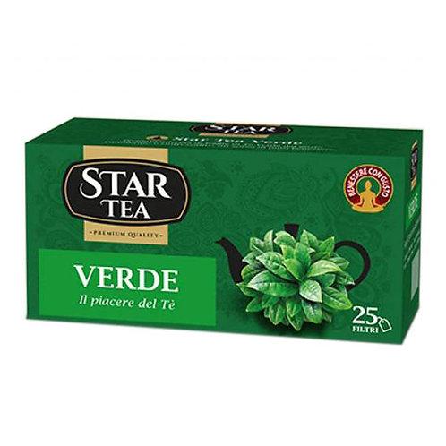 Star Tea Verde 25 Filtri cafe 40 gr