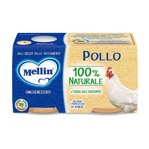 Mellin omogeneizzato pollo 80gr x2