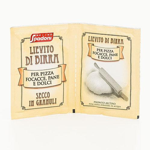 Spadoni lievito birra secco 2 bustine 14 gr