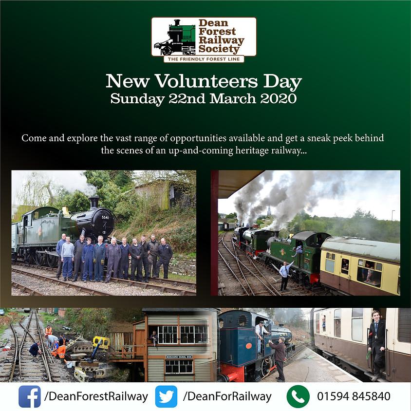 New Volunteers Open Day 2020