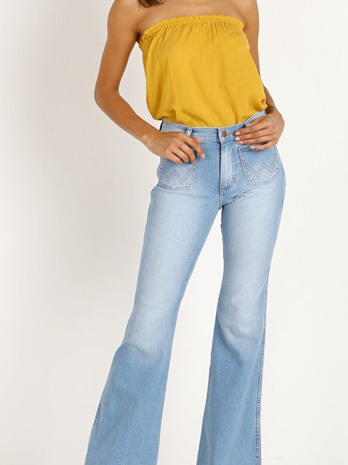 Wrangler Patch Pocket Flare Jean
