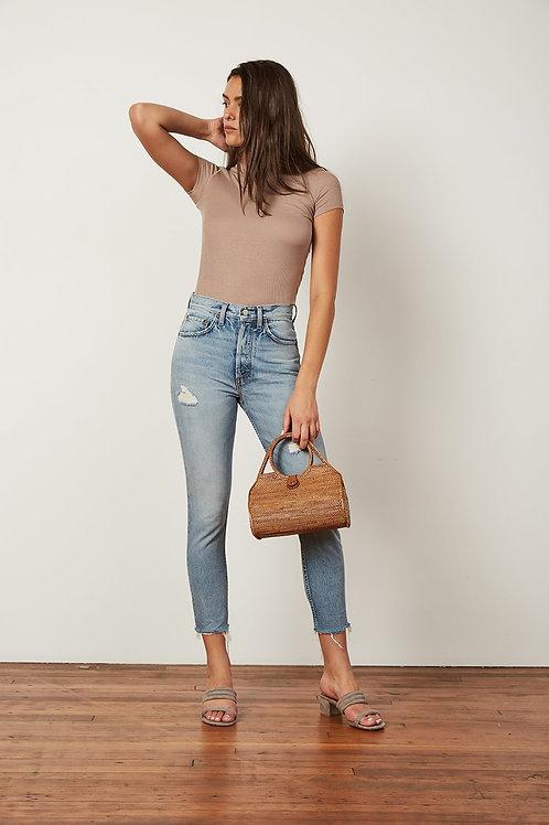 Boyish High Waisted Skinny Jean