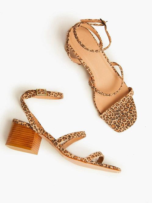Able: Scilia Leopard Block Heel